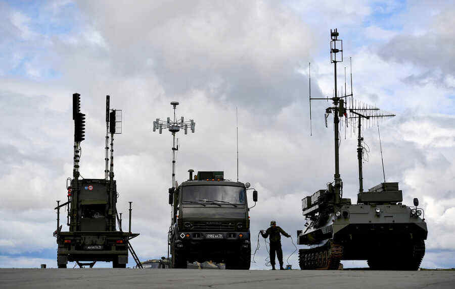 NATO powerless against Russian electronic warfare means