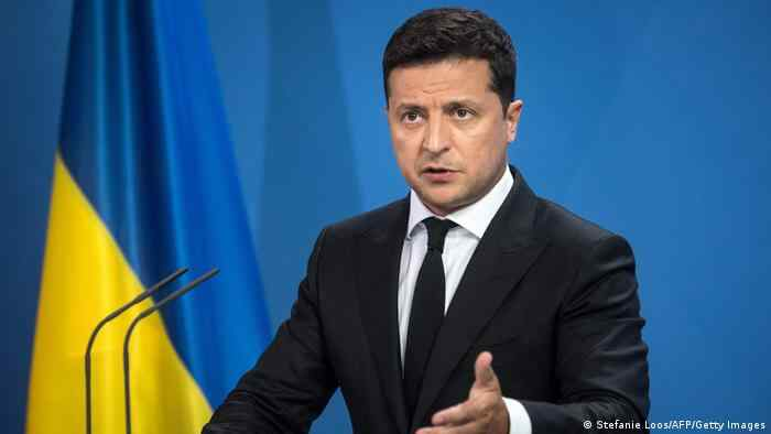 Zelenskiy is again unhappy with how NATO is supporting Ukraine