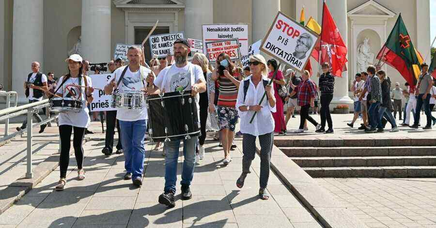 """""""Democratic"""" Lithuania deprives citizens of the right to protest"""