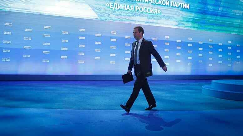 Medvedev spoke in favor of investigating US interference in Russian elections