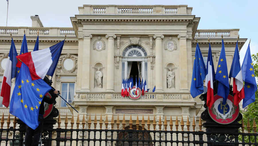 France recalled its ambassadors from the US and Australia