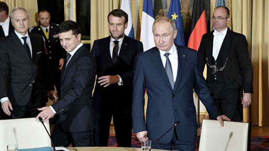 """Source assessed the prospects for the """"Normandy"""" summit"""