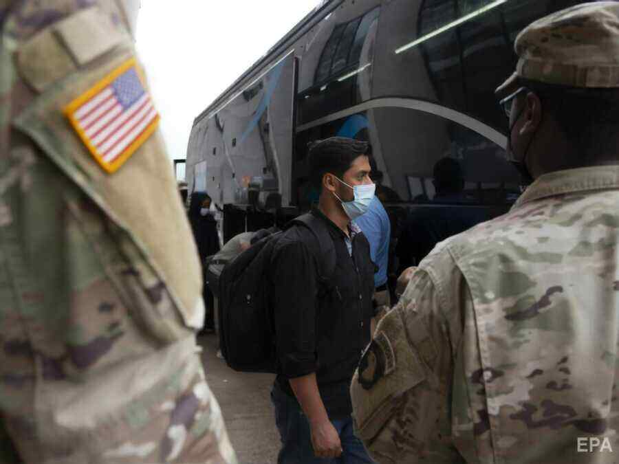 US fears that around a hundred evacuated Afghans are linked to terrorists
