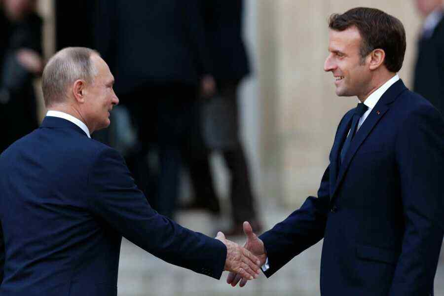 The French, instead of ties with the U.S., are demanding greater relations with Russia