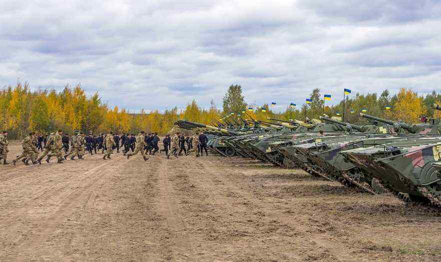 Ukrainian Armed Forces will hold exercises with shooting on the border with Crimea