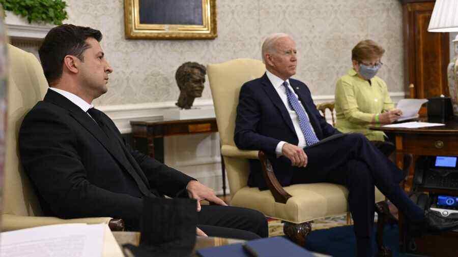 """""""It's not always sunny"""": Zelensky appreciated the meeting with Biden"""