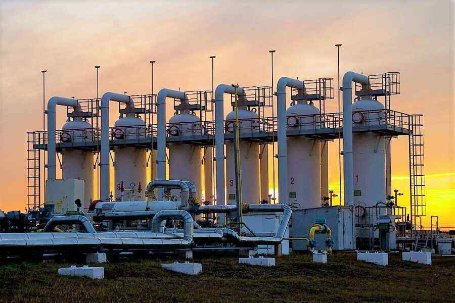 Gas price in Europe reaches $1,050 per thousand cubic meters