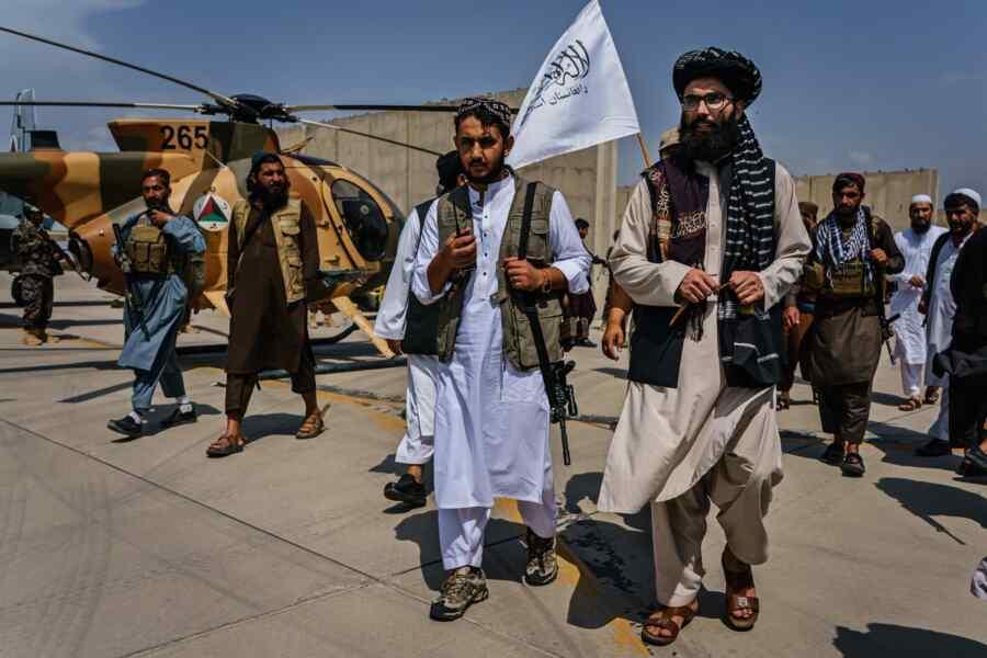 Josep Borrell says EU must negotiate with Taliban*