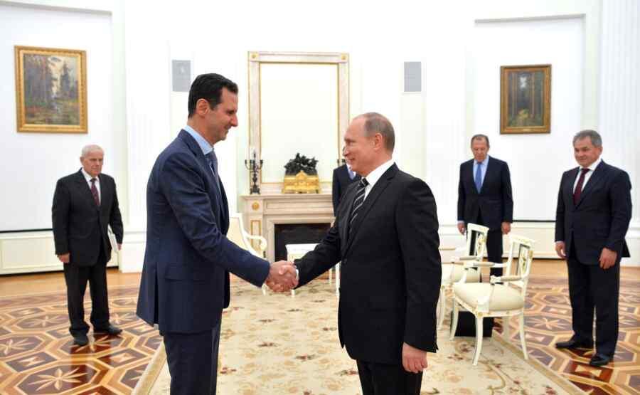 Media: Bashar al-Assad will visit Russia