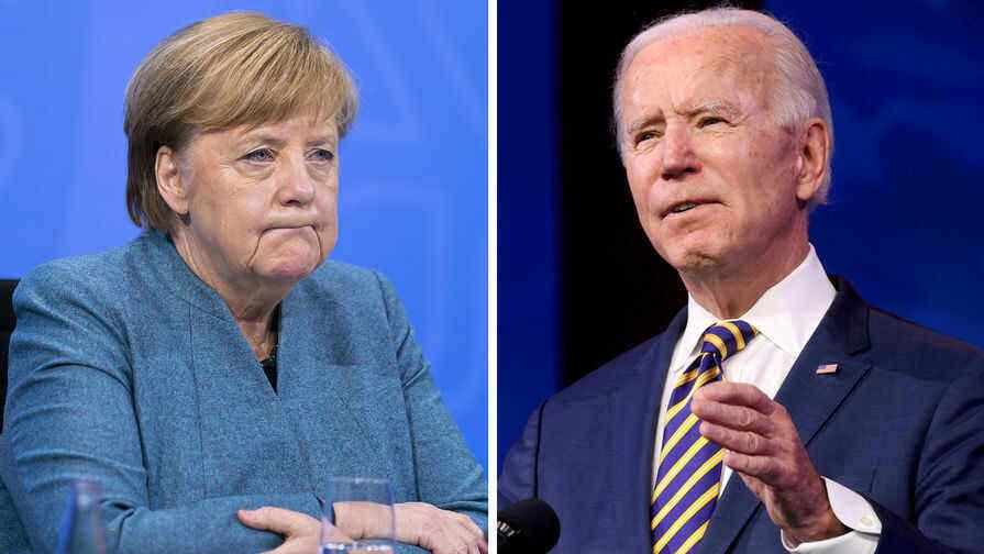 WSJ: Merkel did not take Biden's first call as US president