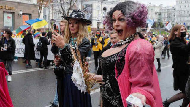 Shameful march: Ukraine's LGBT pride