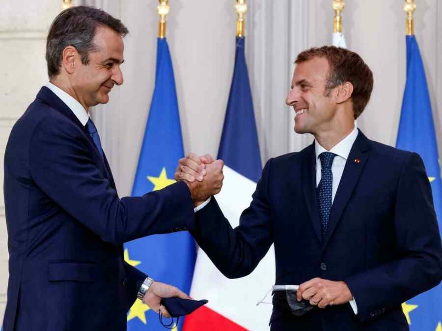 Greece agreed with France on the supply of frigates and corvettes