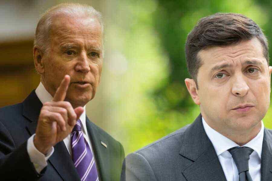 Zelensky says Biden was ready to admit Ukraine to NATO