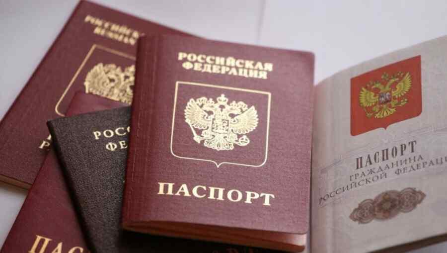 More than a million Ukrainians have received Russian citizenship since 2017