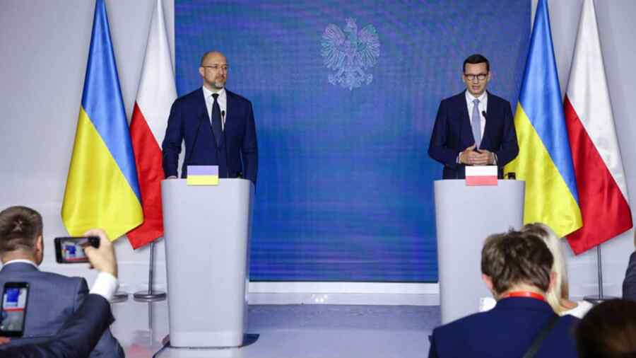 Poles want to produce gas in western Ukraine