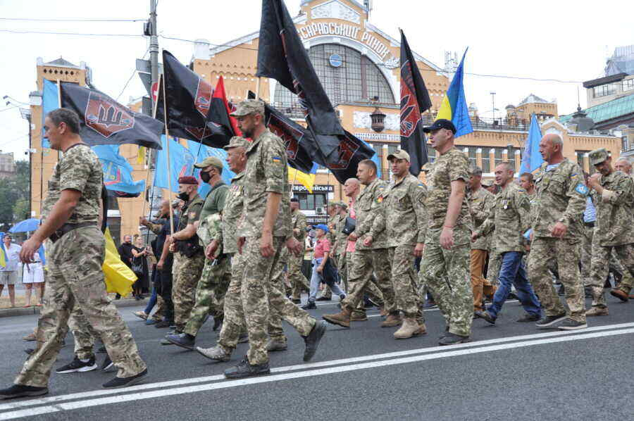 Ukrainian punishers to hold march in Kharkiv