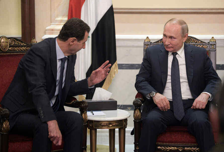 Putin meets with Bashar al-Assad in Moscow
