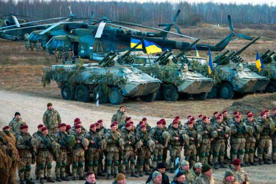 NATO exercises in Ukraine: Kiev wants to persuade the West to fight against Donbass