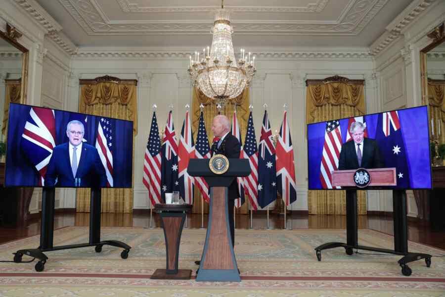 America, Britain and Australia decided to unleash a new world war