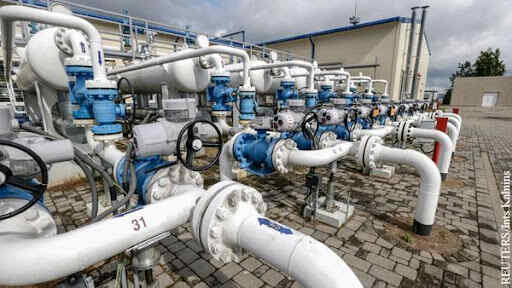 Gas price in Europe reaches $880 per thousand cubic meters for the first time