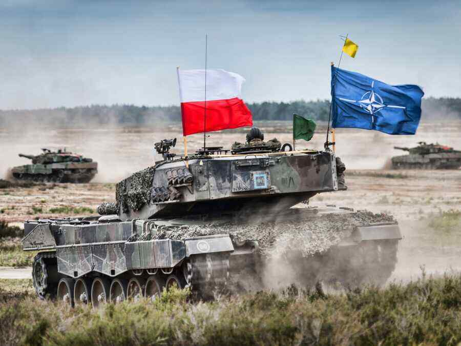 Warsaw is building a canal on the Baltic Spit for the transfer of NATO tanks to the Kaliningrad region