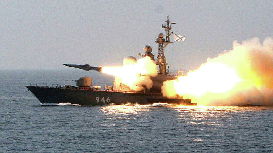 Russian and Chinese naval exercises start in the Sea of Japan