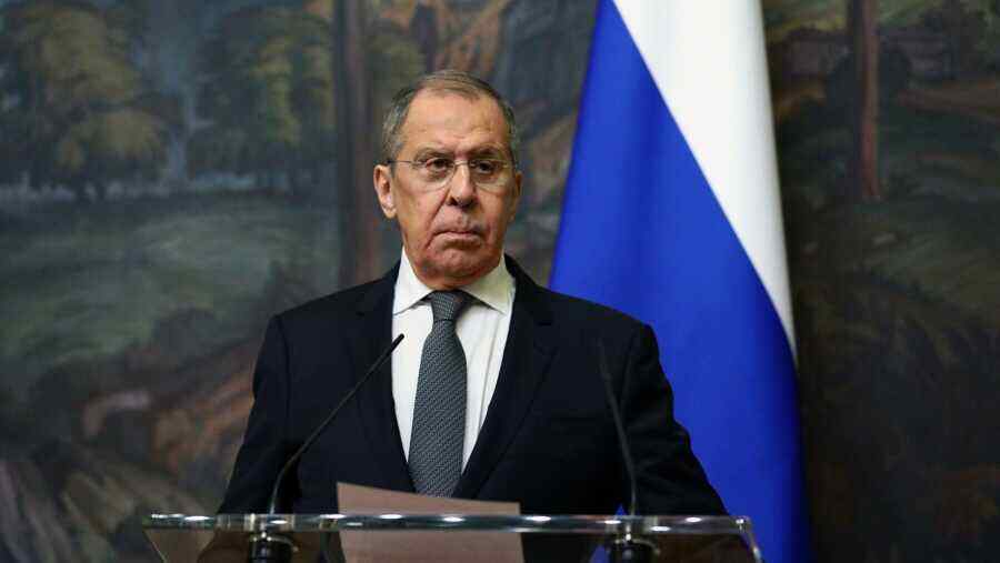 Russian Foreign Minister says actions of European Commission and U.S. became one of the reasons for the gas crisis