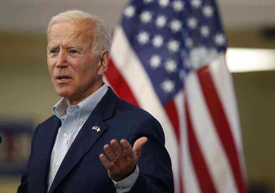 Biden's rating has fallen to a record low