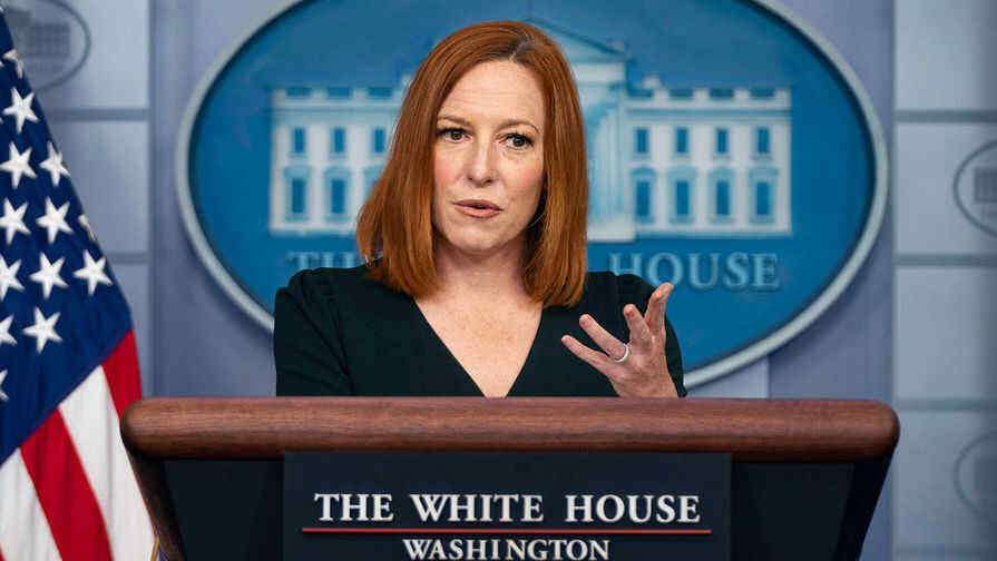 Psaki responds to question about possibility of Biden and Putin meeting in Rome