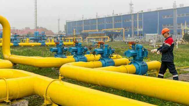 Kiev believes there are no problems with gas in Ukraine