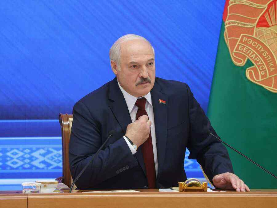 """""""A giant step forward"""": Lukashenko called Russia an example of a successful response to Western"""
