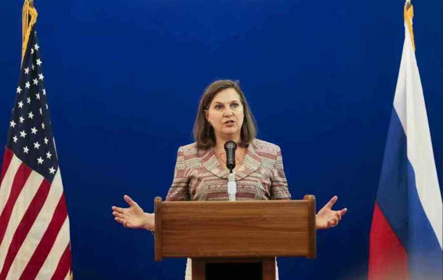 Nuland named the main topic of negotiations in Moscow