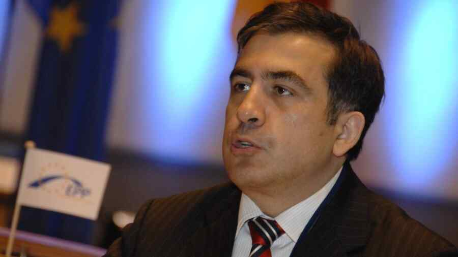 Saakashvili said he arrived in Georgia after eight years of departure