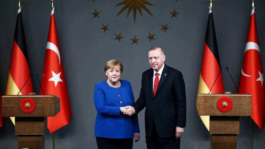 Merkel to meet with Erdogan in Turkey on October 16