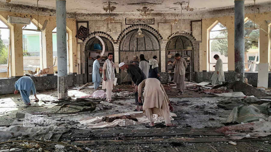 Foreign Ministry calls terrorist attack in Afghan mosque barbaric