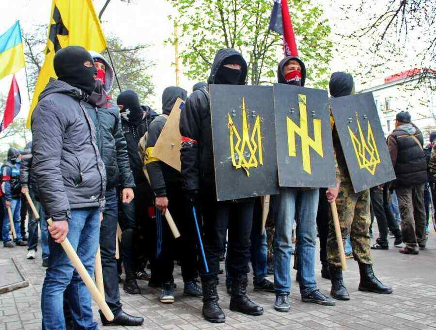 US embassy warns of risk of violence at radical march in Kiev