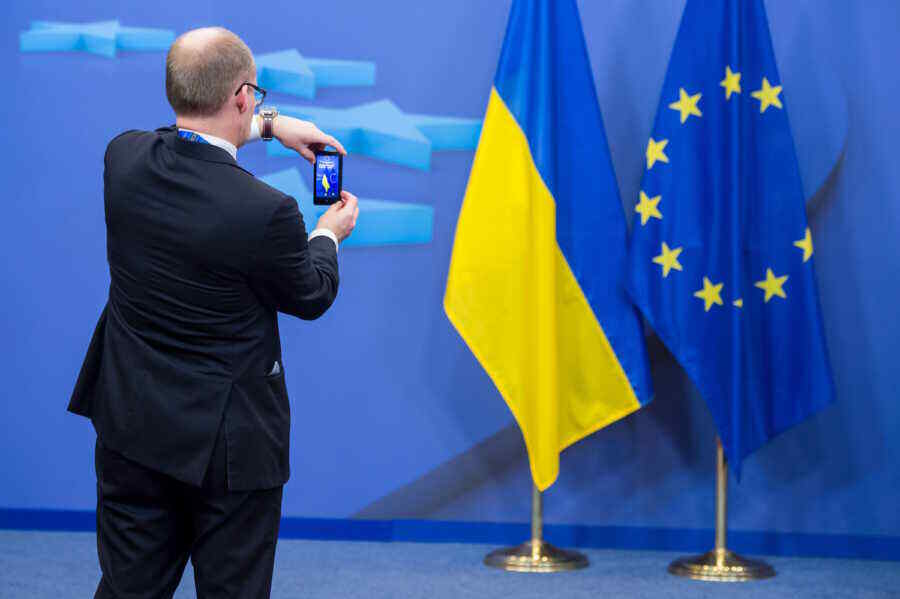 Ukraine has voluntarily surrendered a significant part of its sovereignty in the name of the EU