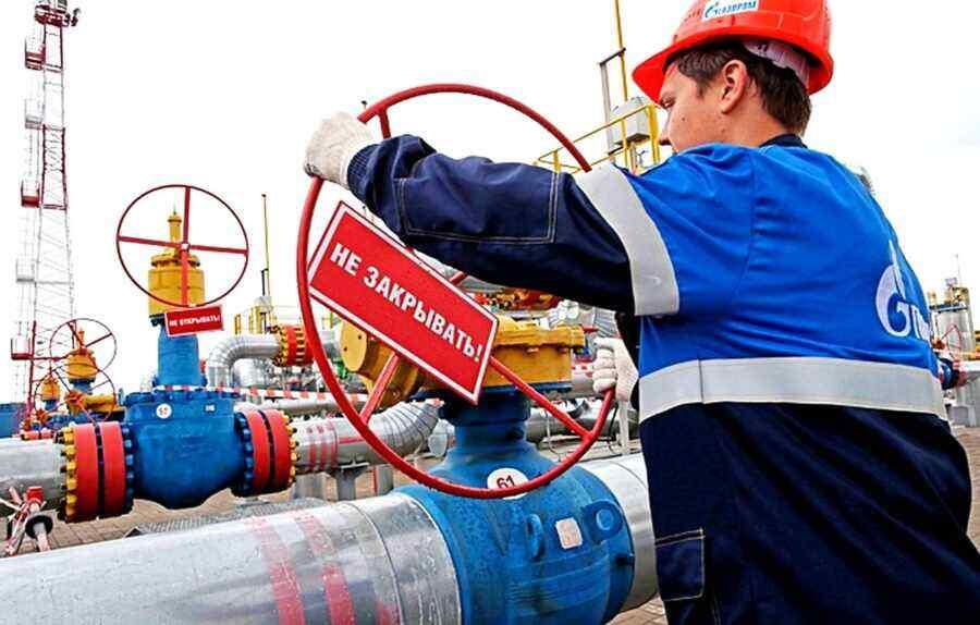 Media says gas crisis begins in Ukraine